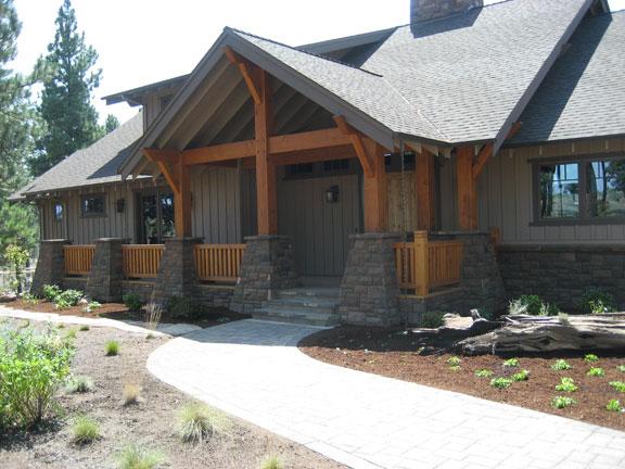 Central Oregon residence.